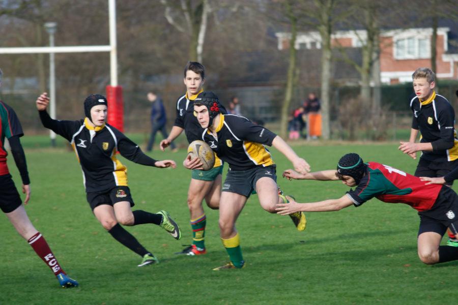 Vlaamse U16 wint van Zebra U16