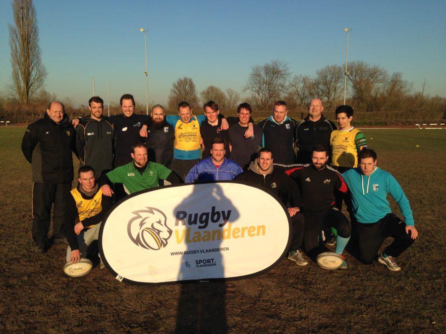 500ste level 1 World Rugby coach in Vlaanderen