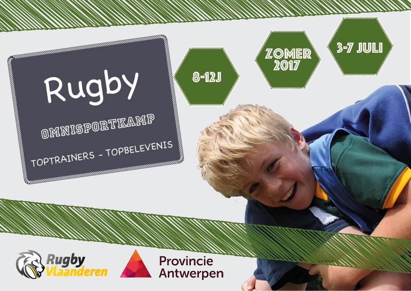 Rugbykamp voor 8 tot 12 jarigen