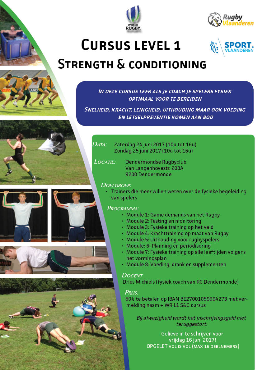 L1 strength & conditioning