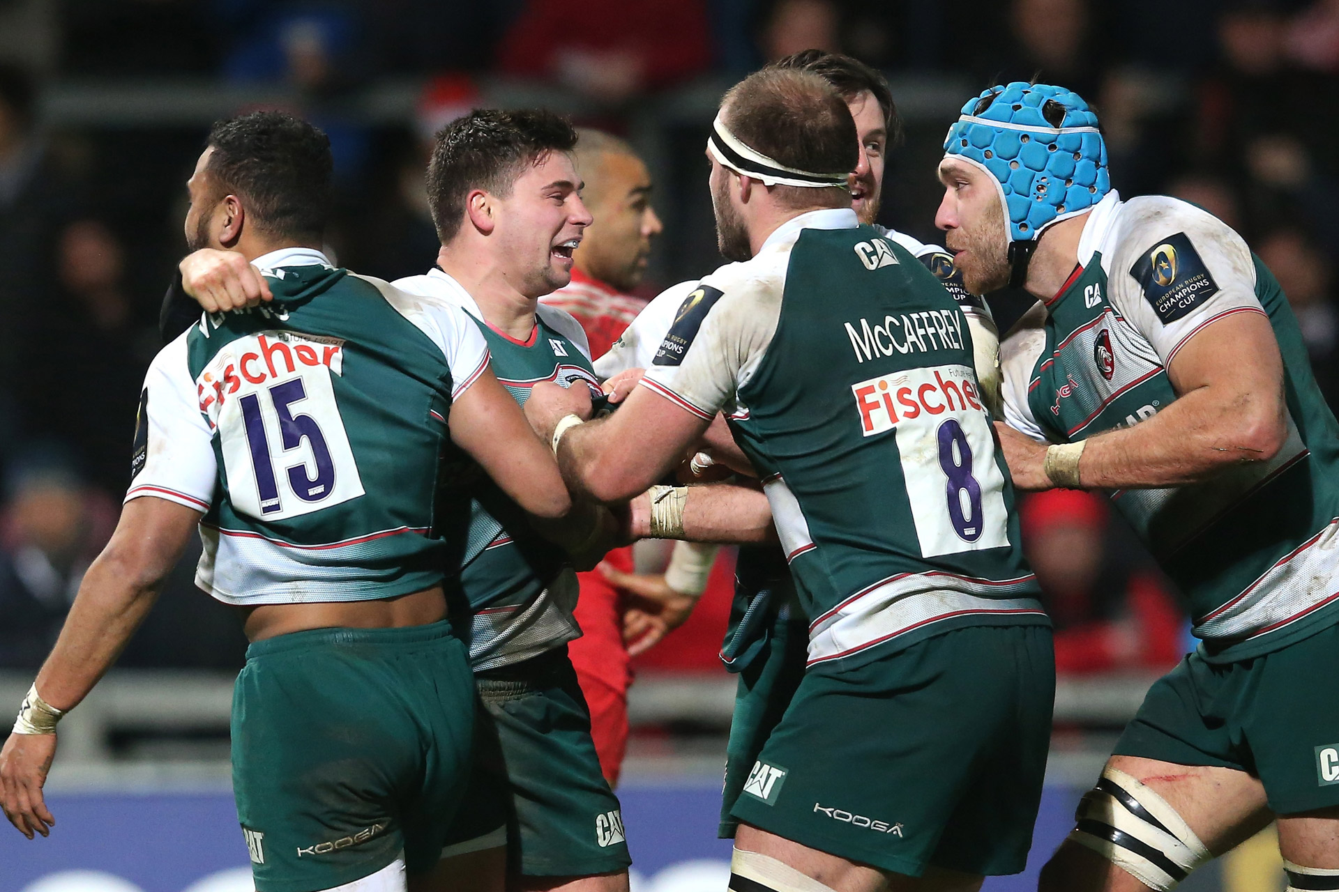 Bijscholing Leicester Tigers coaches!