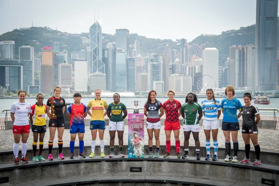 Belsevens dames in Hong Kong!