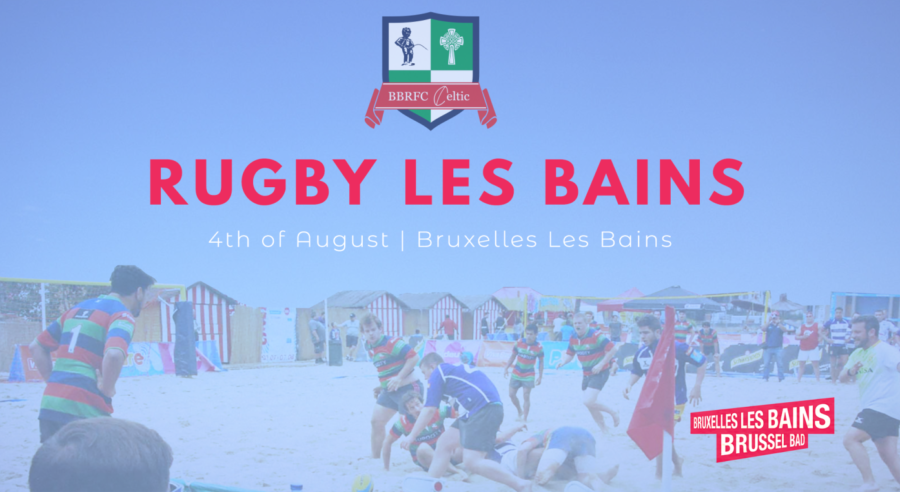Beach rugby tornooi BBRFC Celtic