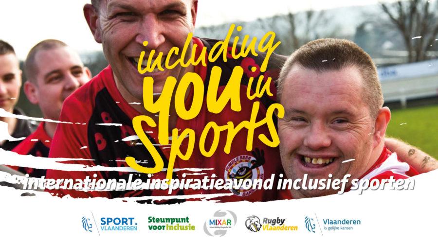 Inspiratieavond inclusief sporten op woensdag 5 juni in Gent