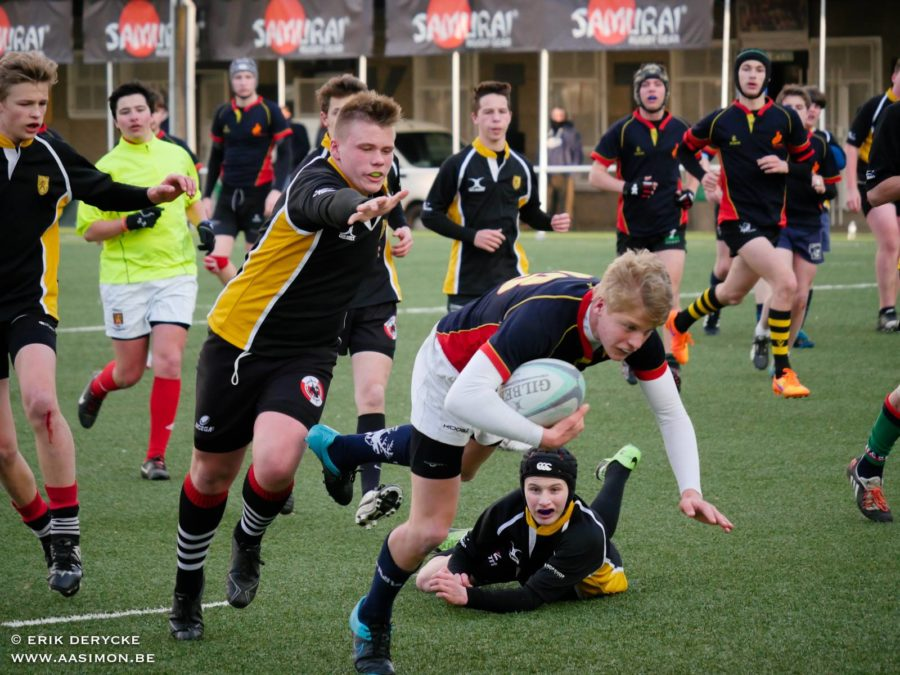 Vlaamse U16 onderuit tegen de LBFR U16