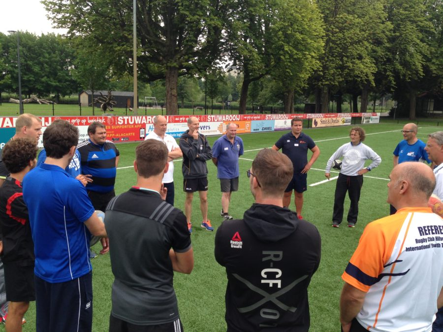 World Rugby educator course met NRB