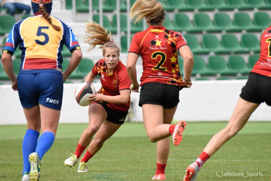 Dames sevens in Elche (SP)