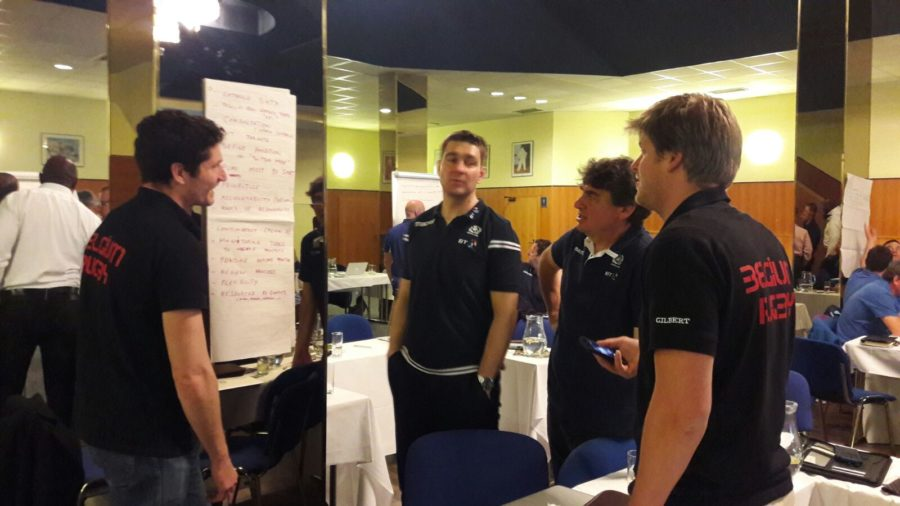 België op het Rugby Europe Congres in Praag