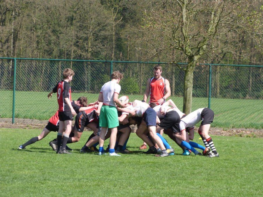 Rugbyteam boys: Enamorada Boom Boom