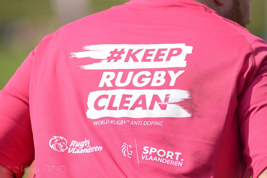 Keep Rugby Clean!
