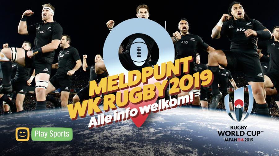 Meld hier al jouw info en acties rond het WK rugby 2019