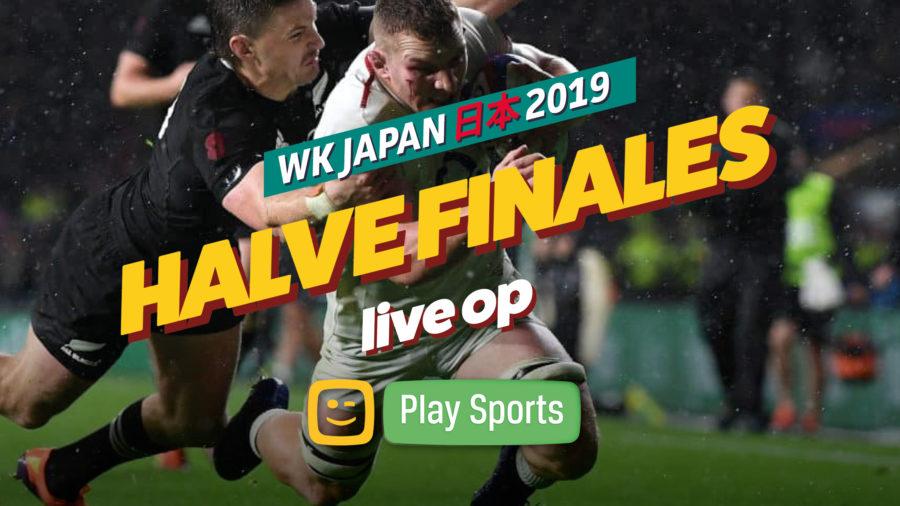 Halve finales WK-rugby Japan op 26 & 27 oktober