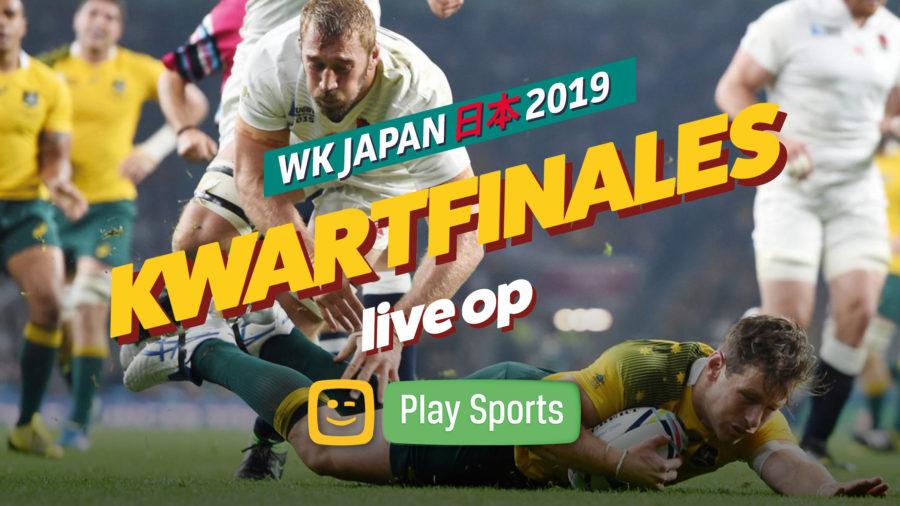 Kwartfinales WK-rugby Japan op 19 & 20 oktober