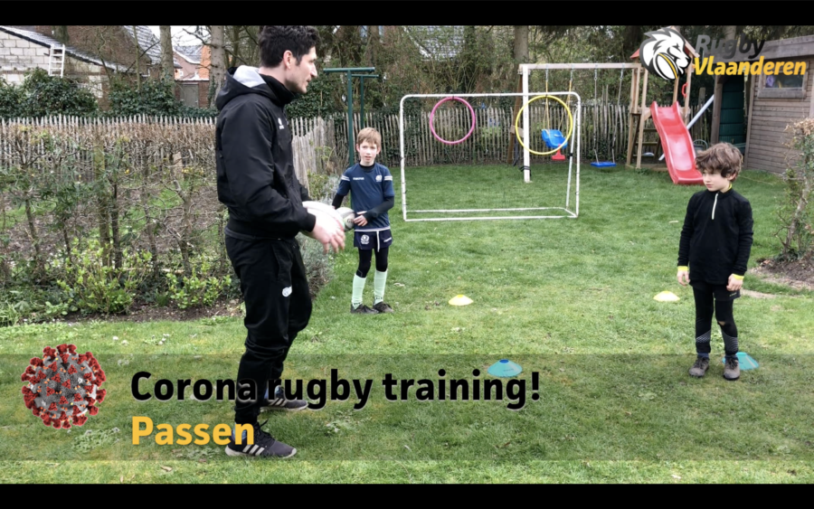 Rugby training voor thuis